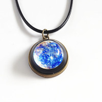 Mercury necklace,Mercury Pendant,solar system necklaces,planet necklace,Planet Jewelry,Galaxy, Universe,Space,Science Jewelry,geek gifts