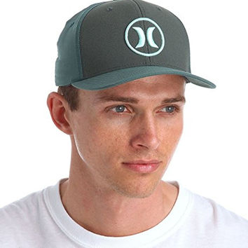 Hurley Dri-fit Bali Hat (Large/X-Large, Dark Emerald)