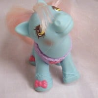 WOW Weird My little Pony Flawed Baby Tippy Toes Ballerina Pink Purple and Blue G1 MLP