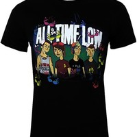 All Time Low Sup Bra Men's Black T-Shirt - Buy Online at Grindstore.com