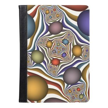Flying Up, Colorful, Modern, Abstract Fractal Art iPad Air Case