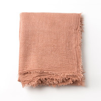 Vintage Pink Soft Long Scarf
