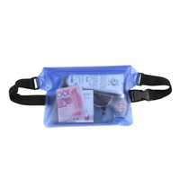 Velocity Surfing Outdoor Three Layer Sealing Mobile Phone Waterproof Waist Bag