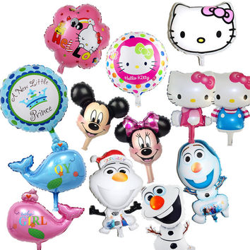 72*43cm Party Super shape Olaf Foil Helium Balloon Birthday Party Wedding Christmas Day Decoration Supplies Kids Gift Toy