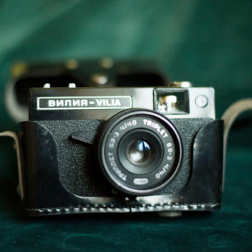 VILIA Soviet camera/Small-format camera ussr/Camera Collection/Retro camera/35 Mm Film Camera