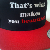 1D That's what makes you beautiful fan embroidered by PopEyeCon