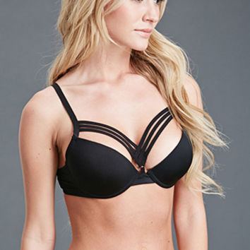 Strappy Push-Up Bra