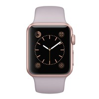 Apple Watch Sport - 38mm Rose Gold Aluminium Case with Lavender Sport Band