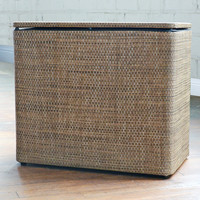 Roxie 1530 Brown Bench Hamper