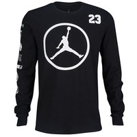 Jordan Jumpman Long Sleeve T-Shirt - Men's at Eastbay