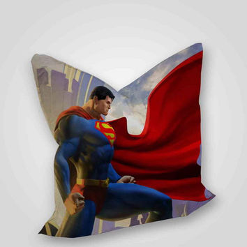 Superman, pillow case, pillow cover, cute and awesome pillow covers