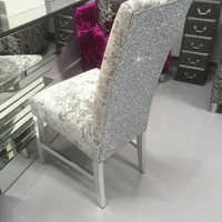 The Stunning Glitter Furniture Company Dining room chair/ bedroom chair colour options