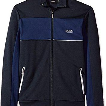 Hugo Boss Boss Men's Tracksuit Jacket 10205567 01, Dark Blue, XL