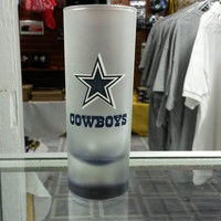 NFL Dallas Cowboys 2.5oz Frosted Shooter Shot Glass