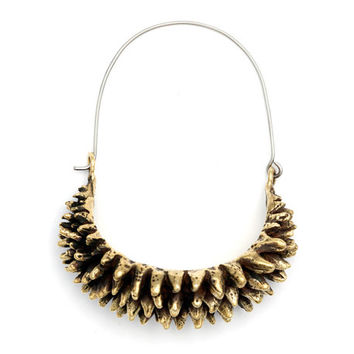 Hoop Earrings - Spike Hoop Earrings - Durian Earrings