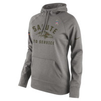 Nike Salute to Service Pullover (NFL Ravens) Women's Performance Hoodie