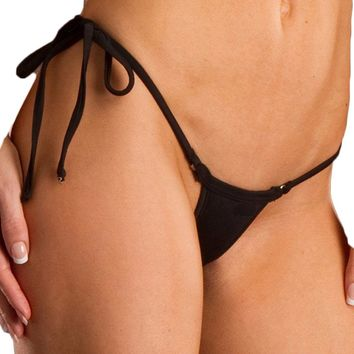 Tiny Sexy string side tie brazilian bikini bottom swimwear