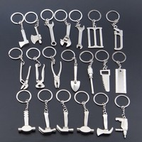 Keychain  Stainless Steel Wrench Shape Auto Accessories
