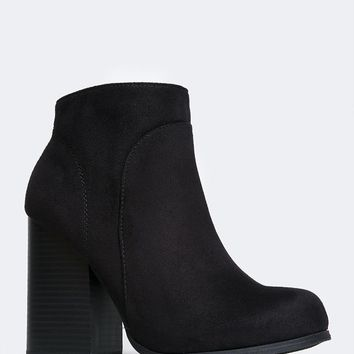Eden Wedge Ankle Booties