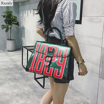 Razaly brand women jelly tote large green red number 1829 designer handbags clutch bolsa feminina big clear beach bag not pvc