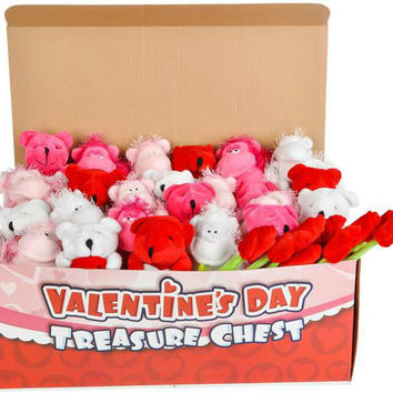 valentine's day plush toy mix in chest Case of 360