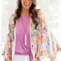 Destination Tropical Kimono | Monday Dress
