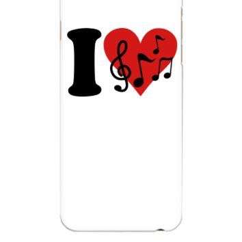 I love Music  - iphone 6 Plus Case