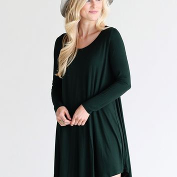 Moss PIKO Swing Dress