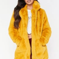Jocelyn Faux Fur Coat