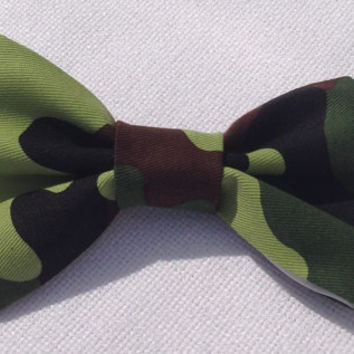 Camouflage Bow Tie - infant - adult bow - camo bow camouflage hair bow