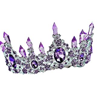 "NEW ""Camilla"" Crystal Princess Crown"