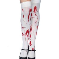 LEG AVENUE - BLOODY ZOMBIE THIGH HIGHS