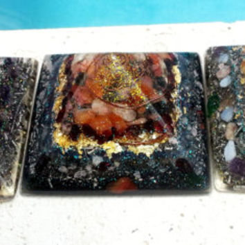 ORGONE PYRAMID - Best Positive Energy Generator, EMF Protection, Made to Order