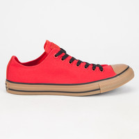 Converse Chuck Taylor All Star Low Gum Mens Shoes Red  In Sizes