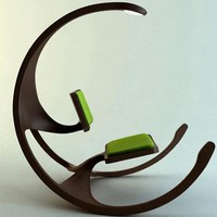 Rocking Wheel Chair is Antiques and highly intelligent by Mathias Koehler - Top Chair Design