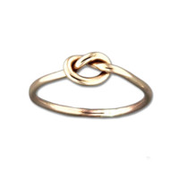 Single Knot Ring - Gold Filled