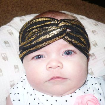 Baby Turban Headband, Baby Headwrap Baby Girl Headband Kids Bandana, Infant Headband, Toddler Headband, Newborn Headband Goodtreasures123