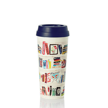Thermal Mug in Bella Bookshelf by Kate Spade New York