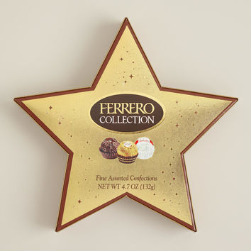 Ferrero Rocher Chocolate Star Gift Box - World Market