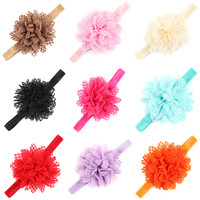 Opentip.com: Alice Baby Girl Headbands Cute Hair Bow Wear Flower Hair Accessories, Pack of 24