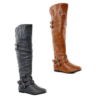 Women's Kinshasa Thigh High Over the Knee Riding Boots