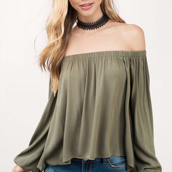 Lulu Off Shoulder Blouse