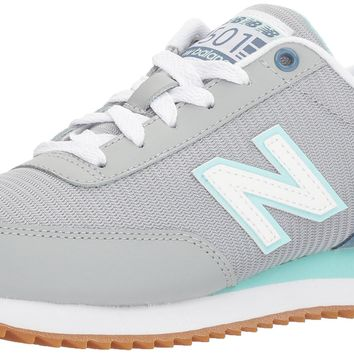 new balance women s 501 lifestyle fashion sneaker silver mink deep porcelain blue 6 5 b m us