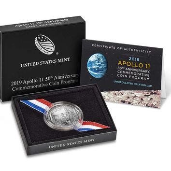 2019-D Apollo 11 50th Anniversary Uncirculated Half Dollar