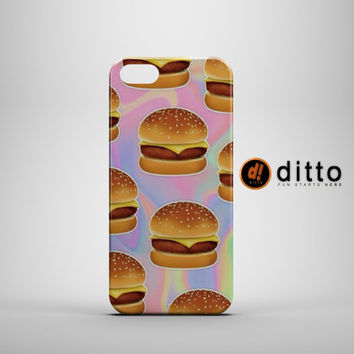 BURGER DREAM Design Custom Case by ditto! for iPhone 6 6 Plus iPhone 5 5s 5c iPhone 4 4s Samsung Galaxy s3 s4 & s5 and Note 2 3 4