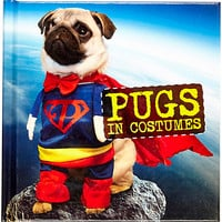 River Island Womens Pugs in costumes book