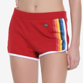 "Licensed cool Star Wars Solo Red Dolphin Shorts Track Athletic ""Dolfins"" Her Universe JRS S-XL"