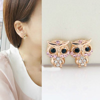 NT0138 Owl earrings