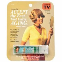 Accept the Fact that You're Aging Spray | Stupid.com