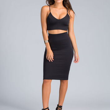 One Plus One Top And Skirt Set